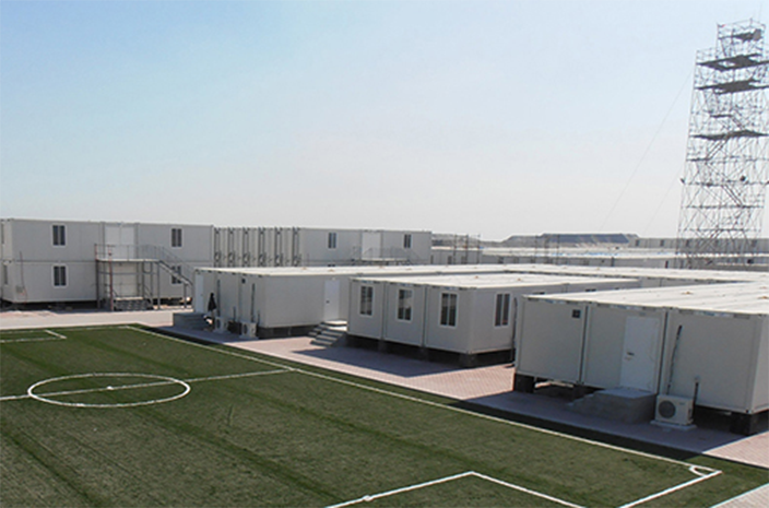 High-quality prefab modular buildings such as offices and